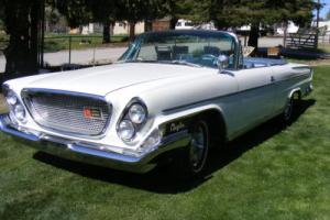 1962 Chrysler Newport convertible