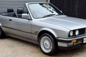 Stunning E30 3 Series 325 Convertible Manual - WARRANTY INC - SERVICED AND MOT Photo
