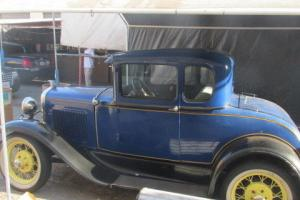 1931 Ford Model A 5 Window Coupe w/Rumbleseat