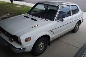 1977 Honda Civic Sedan
