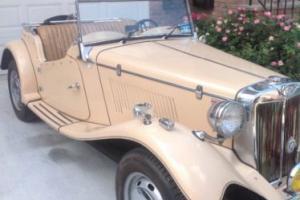 1953 MG T-Series Photo