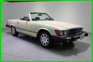 1980 Mercedes-Benz 400-Series V8 AUTOMATIC HARD TOP CONVERTIBLE CHROME WHEELS