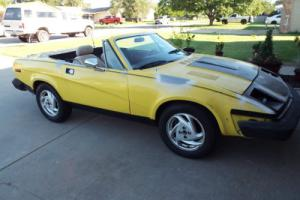 1980 Triumph Other Roadster Photo