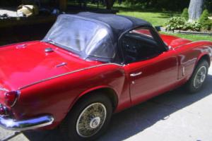 1968 Triumph Spitfire ROADSTER Photo