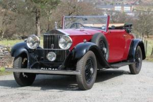 1930 Rolls-Royce 20/25 Park Ward Drophead Single Coupe GSR3 Photo