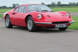 1973 M FERRARI DINO 246 GT COUPE