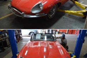 Jaguar E type 1967, matching numbers, complete project, don't miss, NO RESERVE!!