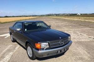 1988 Mercedes-Benz 560SEC LHD - 62k Miles (99k KM) - FSH - Superb