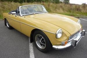 MGB ROADSTER 1972 FULL REPAINT AUG 2016 IN HARVEST GOLD STUNNING CAR