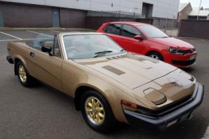 1981 TRIUMPH TR7 CONVERTIBLE relisted due to timewaster !!