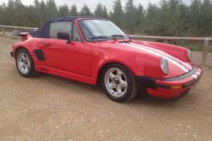 Porsche 911 Turbo Convertible (Covin Replica/Kitcar)