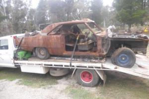 VG Valiant Coupe Shaped Rust Pile Photo