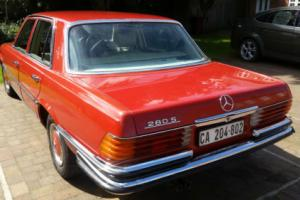 MERCEDES 280S W126 SUPERB 1976 LOW MILEAGE RUST FREE IMPORT FROM SOUTH AFRICA
