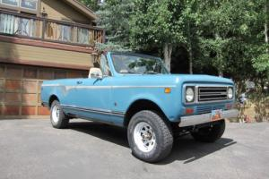 1978 International Harvester Scout