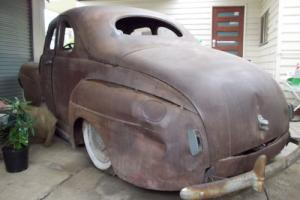 1941 Ford Opera Coupe LHD Rolling Shell Sidey 4 Speed Original Dents Rust in VIC