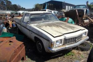 Holden HX Utility 202 3 SPD Drives Rusty NO Seat Sold With Commodore Rims in VIC