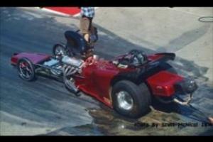 "125"" Altered Drag CAR Roller AND Enclosed Trailer"