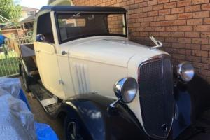 1934 Chevy pick up truck - old Holden built cab