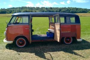 1965 VW split screen double door deluxe 13 window very rare desirable model