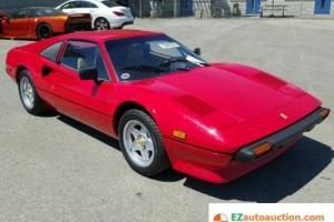 1981 Ferrari 308 Photo