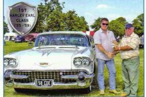 Classic American cars 58 Cadillac Photo