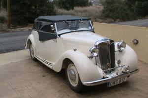 MG Y body soft top 1949 (in family since new)