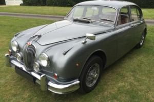 superbly original LHD 1961 Jaguar Mark II 3.4 man/OD + drives superbly