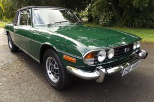 TRIUMPH STAG 3.0 V8 MANUAL 46,000 MILES OWNED SINCE 2003 SUPERB BODYWORK THR/OUT