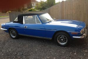 Triumph Stag 1972 V8 3.5 Rover Engine, Would part-exchange for Dolomite Sprint Photo
