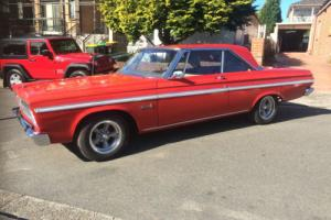 1965 Plymouth Belvedere II in NSW