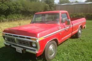 ford pickup f250 460 cu inch auto like f100 chevrolet new mot 1977 V5