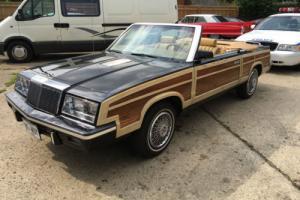 1985 CHRYSLER BLACK, classic , yank , convertible , american , car
