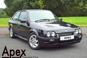 1989 FORD ESCORT RS TURBO BLACK SERIES 2 90's SPEC