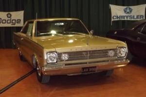 1966 PLYMOUTH SATELLITE in ORIGINAL CONDITION high option car