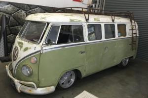 VW SPLITSCREEN 1965 11 window RAT LOOK