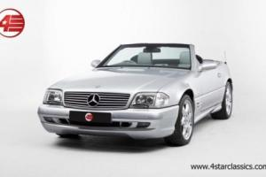 FOR SALE: Mercedes-Benz SL 500 Silver Arrow 2001