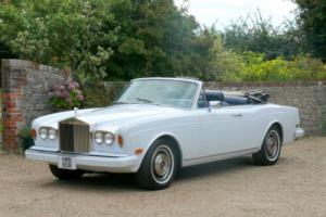 1978 Rolls-Royce Corniche Convetible LHD