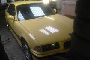 1995 BMW E36 3.2 M3 EVOLUTION DAKAR YELLOW CONVERTIBLE HARD TOP RARE