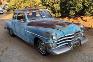 1950 Chrysler New Yorker Coupe - Lovely old dessert car with a straight 8