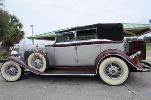 1932 Other Makes Auburn Phaeton Model 12-160A 4 door sedan