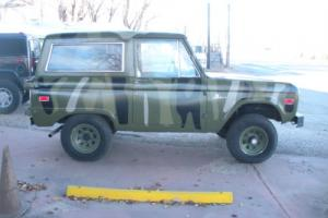 1973 Ford Bronco Bronco
