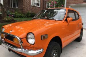 1972 Honda AZ 600 AZ 600