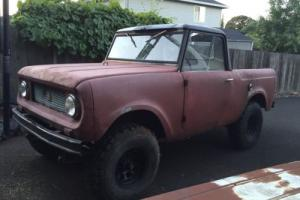 1962 Chevrolet Other Pickups Photo