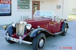 1952 Replica/Kit Makes MGTD Replica