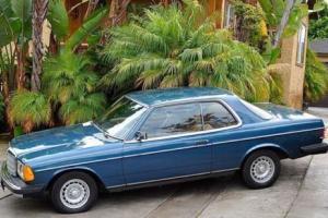 1982 Mercedes-Benz 300-Series W123 300cd 300cdt 300 cd cdt coupe