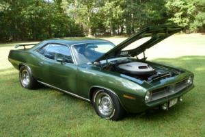 1970 Plymouth Barracuda cuda