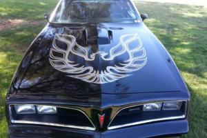 1978 Pontiac Trans Am Trans am, Firebird T/A