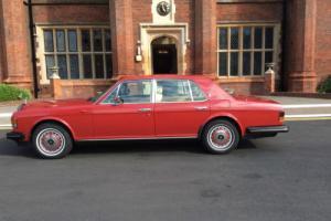1992 ROLLS ROYCE SILVER SPIRIT II AUTO REGENCY RED