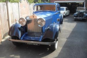 1934 Rolls Royce 20/25 sports saloon