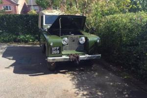 1958 Series 2 Land Rover - 2 Litre Diesel